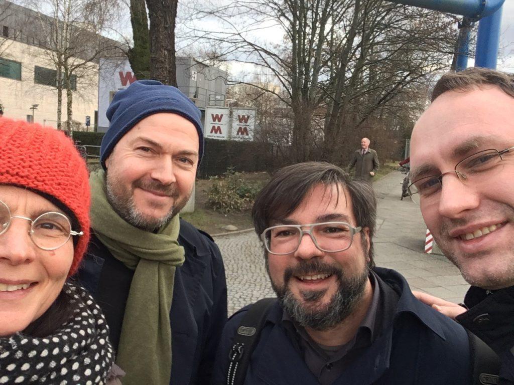 Das Foto zeigt Open Data Aktive im Selfie.