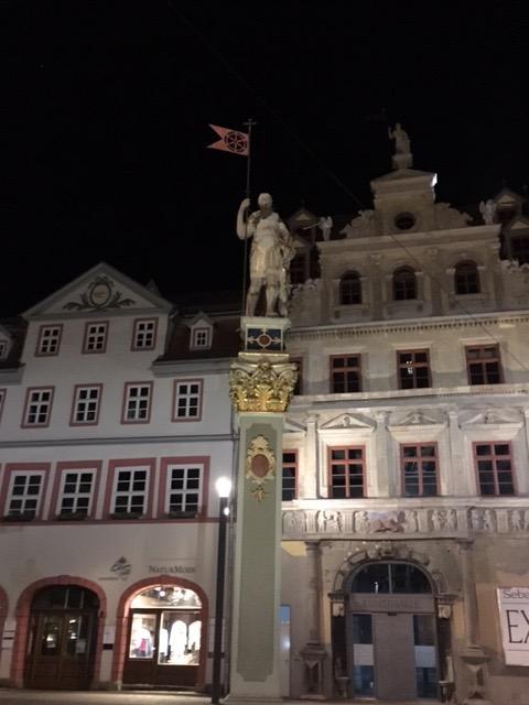 Das Foto zeigt die Innenstadt Erfurt.