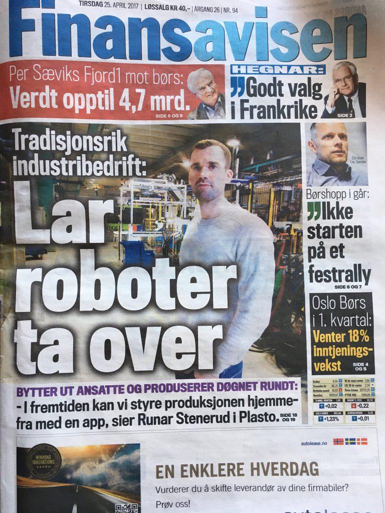 Traditionsunternehmen: Roboter übernehmen