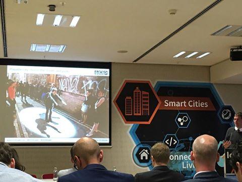 Das Foto zeigt ein gutes Beispiel für SmartCity Bristol, und das spielen mit IOT.