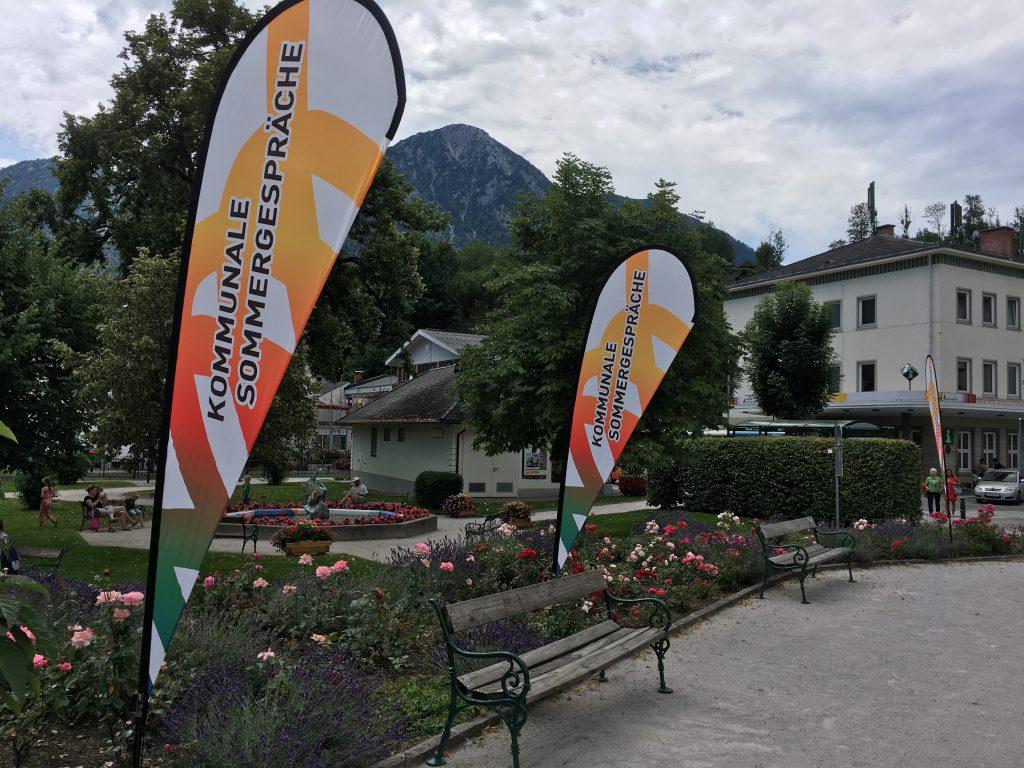Das Foto zeigt das Kurhaus von Bad Aussee.