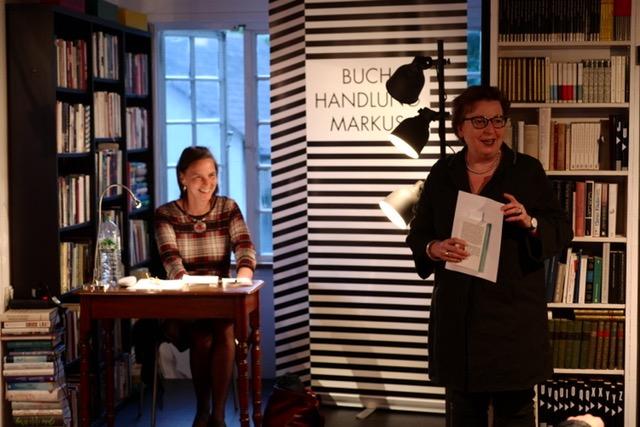 Das Foto zeigt Elke Corsmeyer und Anke Knopp.